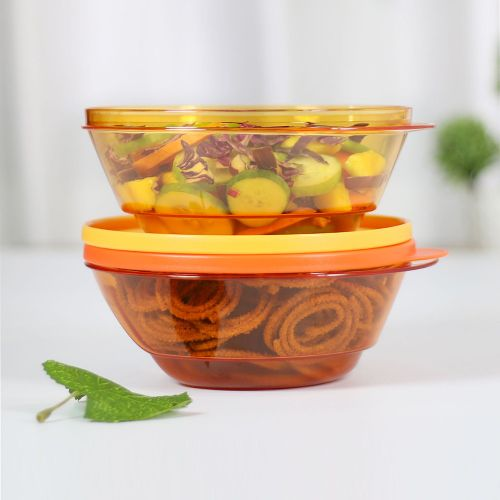 Transparent Storing and Serving Bowl 1L 2pc