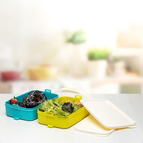 Click to Go Lunch Carrier 900ml 2pc
