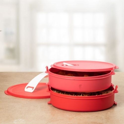 Click to Go Round Food Carrier 880ml