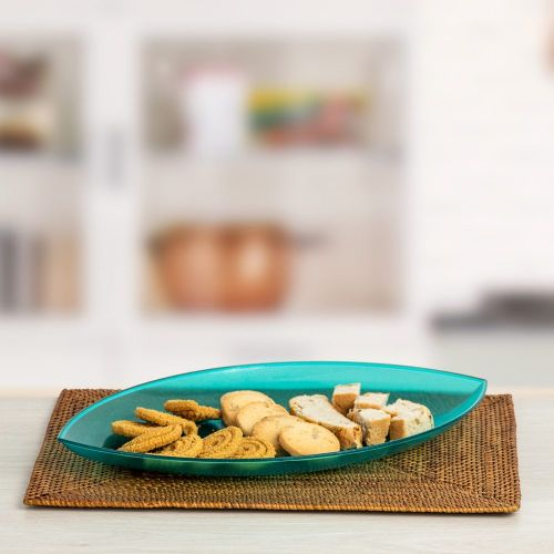Polycarbonate Lotus Serving Platter