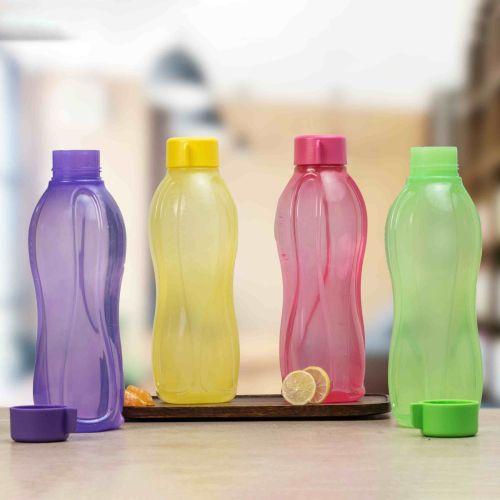 Aquasafe 1litre Water Bottle 4pc