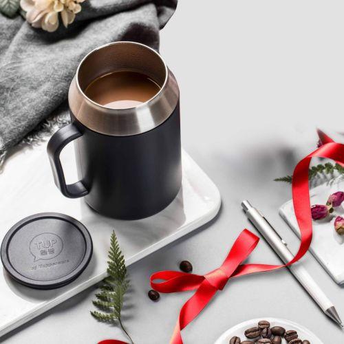 Desk Coffee Tea Mug 400 ML Black