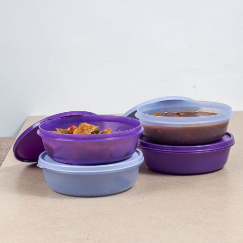 Multipurpose Refrigerator SS Bowl 1L 4pc