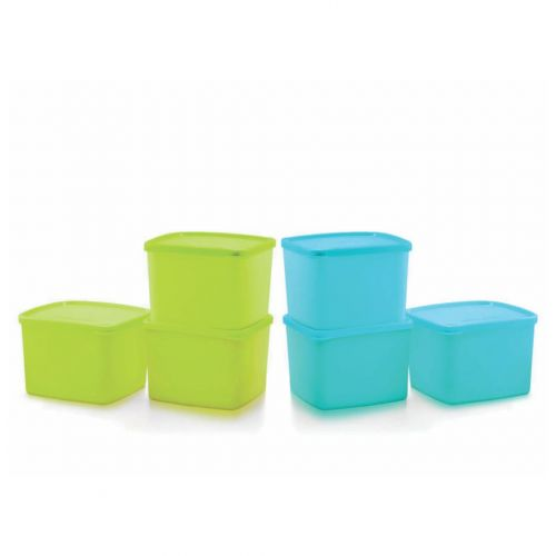 Square Refrigerator Container Cool N Fresh 800ml 6pc