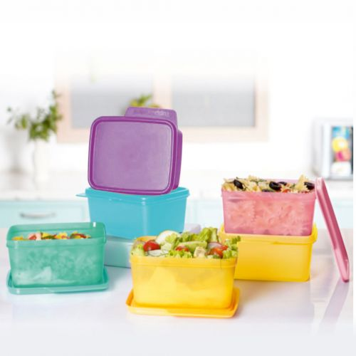 Square Refrigerator Container Keep Tab 500ml 6pc