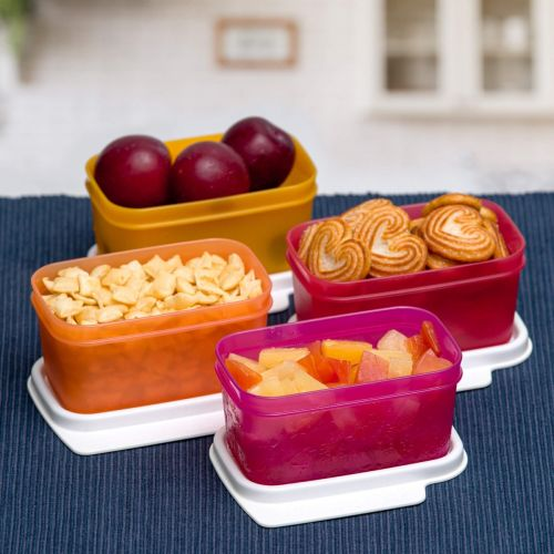 Rectangle Refrigerator Container Keep Tab 160ml 4pc