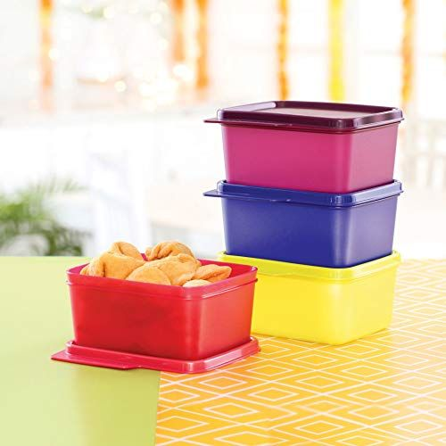 Square Refrigerator Container Keep Tab 500ml 4pc