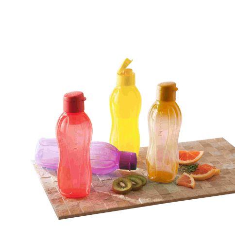 Aquasafe Fliptop 750ml Bottle 4pc