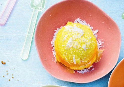 Mango and Pineapple Sorbet